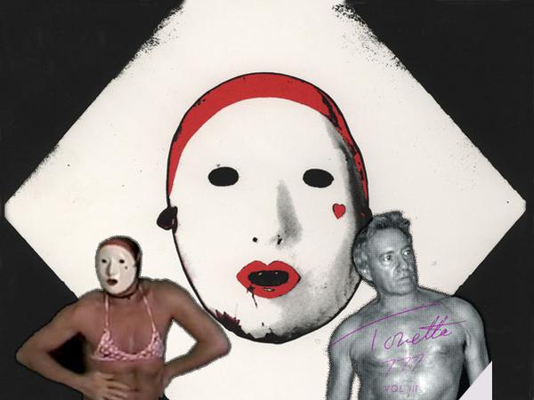 Quién es Tonetta, el artista que mezcla sexo, surrealismo y punk